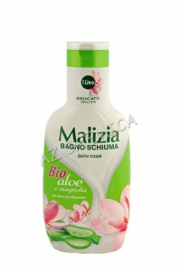 Malizia BIO Aloes i Magnolia płyn do kąpieli 1000 ml.